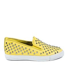 Another great find on #zulily! Yellow Sting Slip-On Sneaker #zulilyfinds