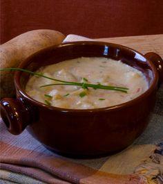 My Vegan Cookbook -Quick Low-Fat Potato Soup