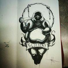 Gluttony - Shawn Coss
