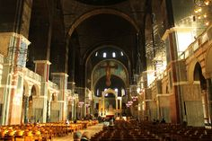 Nave, Westminster Cathedral, London