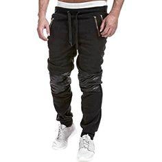 Chen Mens Jogging Sport Harem Pants Skinny Slim Fit Training Trousers Sweatpants