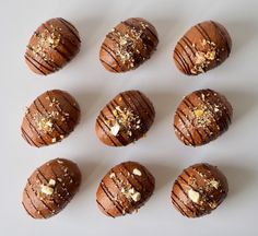 Caramel Apples, Holiday Recipes, Tapas, Sweet Tooth, Deserts, Muffin, Yummy Food, Sweets, Candy