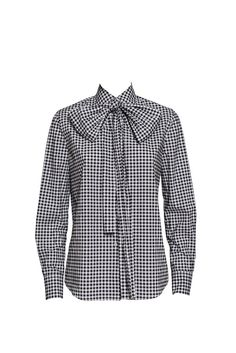 Details Color: color Content: Content Return Policy: Take care when trying on the items, as all products must be returned in a new and unused condition with all garment tags still attached. Gingham Shirt, Workout Shirts, Tie Box, Blazer, Sleeves, Cotton, Jackets, Tags, Women