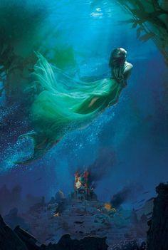Deep Blue by jennifer Donnelly (Waterfire saga)