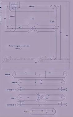 image of #420 Router Pantograph Plans