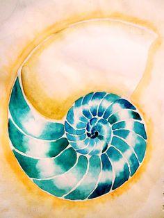 Nautilus 2 Watercolor