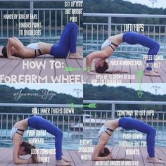 Puente con brazos :: How to Forearm wheel