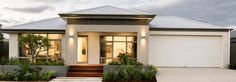 home builders perth wa display homes amp house designs Bungalow Haus Design, Modern Bungalow House, Bungalow House Plans, Modern Houses, Home Design 2017, Dream Home Design, New Home Designs, Villa Design, House Design