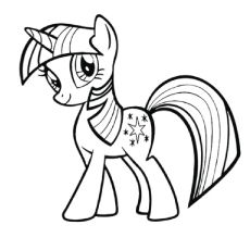 My Little Pony Rainbow Dash Coloring Pages Printable Coloring | my ...