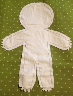Doll tutorial come fare una pigotta from my diy word – ArtofitPattern and DIY to make a rag doll - Free patterns - Top Diy ProjectsFinally, bend up the foot and stitch across the top to the leg. Stab stitch the joint at the hips, and your doll body Fabric Doll Pattern, Doll Sewing Patterns, Sewing Dolls, Sewing Diy, Sewing Ideas, Free Sewing, Sewing Crafts, Sock Dolls, Felt Dolls