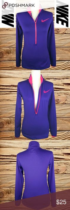 NIKE - PRO DRI-FIT HALF ZIP JACKET! ❤️ NIKE - PRO DRI-FIT HALF ZIP JACKET   (EVERY ITEM IS DRY CLEANED!  EVERY ITEM IS WRAPPED!)  BUY TWO OR MORE ITEMS AND SAVE 10%!! Nike Tops Sweatshirts & Hoodies