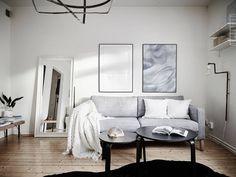 IKEA Karlstad minimal, neutral living room