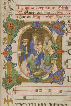 Adorazione dei magi autore: Zanobi Strozzi e Filippo di Matteo Torelli  tecnica: tempera e pennello