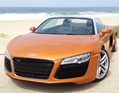 Jaw-dropping Audi R8 V10 making waves this #SupercarSunday #spon