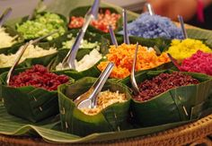 Authentic Thai ingredients for Khao Yum Rice Salad Golf Thailand, Thailand Travel, Rice Salad, Rice Dishes, Thai Recipes, Travel And Leisure, Food, Essen, Thailand Destinations
