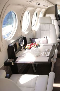 Interior airplane. #luxury #airplane #airport