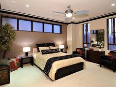 Interior Paint Ideas Bedroom - Inspiring Penthouse Bedroom Interior And Design