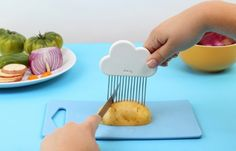 And a cloud to help you chop vegetables. | 31 Insanely Adorable Products That Will Make Your Life Easier