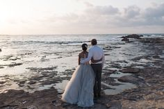 Soft elopement on the beach in Crete | Crete for Love Stunning location for beach elopements in Chania, Crete