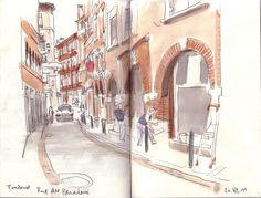 Toulouse Rue des Paradoux  (via Flickr)
