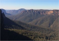 Blue Mountains- Places are similar and different resource from the state library. Students examine natural and human features of Australia. Students consider how people's perceptions of places are the basis for actions to protect places and environments.