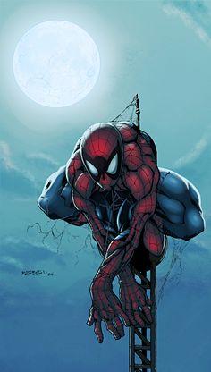 Spider-Man by carlobarberi.deviantart.com, colours by logicfun.deviantart.com