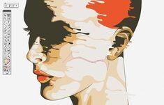 Create a drip-effect portrait in Illustrator | Illustrator | Creative Bloq