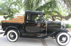 1930 Model A Ford Truck - When my kids were young we had one of these just for fun. It was yellow
