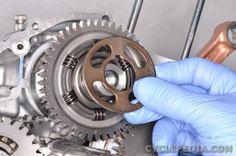 suzuki tu250x maintenance oil change filter instructions