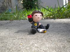 Chibi Captain Hammer by Chiblets on Etsy, $30.00