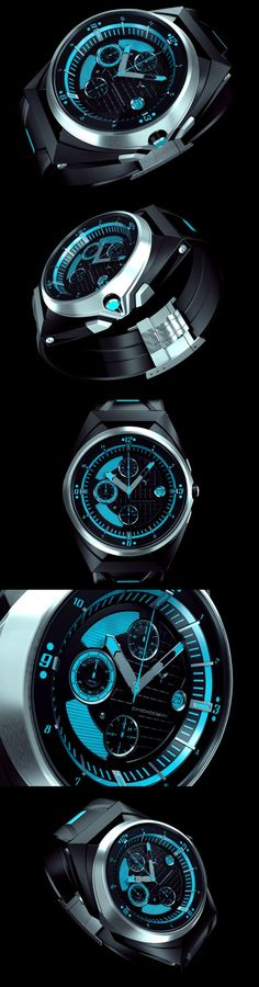 INVISIUM CONCEPT WATCH by Paweł Czyżewski, via Behance