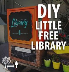 If you've been wanting to build your own Little Free Library book exchange, we'll show you how to create a cute, bright book box for under $50! Starting a neighborhood lending library has never been so easy; no Library plans or blueprints needed.