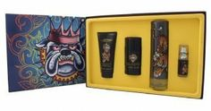 ED HARDY by Christian Audigier Gift Set for MEN: EDT SPRAY 3.4 OZ & HAIR AND BODY WASH 3 OZ & ALCOHOL FREE DEODORANT STICK 2.75 OZ & EDT SPRAY .25 OZ MINI by Christian Audigier. Save 59 Off!. $38.67. Fragrance Notes: amber, bergamot, mandarin, clary sage, thuja, sequoia. Design House: Christian Audigier. ED HARDY by Christian Audigier for MEN EDT SPRAY 3.4 OZ & HAIR AND BODY WASH 3 OZ & ALCOHOL FREE DEODORANT STICK 2.75 OZ & EDT SPRAY .25 OZ MINI Launched by the design house of Christia...