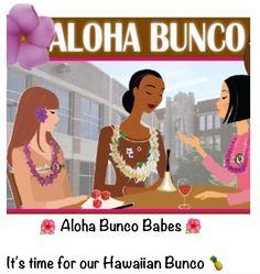 Aloha Hawaiian Bunco Party