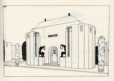 Une cité moderne, Robert mallet Stevens Musée (n° 3)