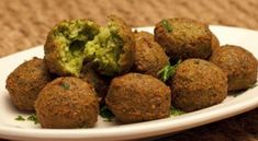 Learn how to make falafel, a delicious Middle Eastern recipe for crispy, fried chickpeas balls are one of the best vegan foods Preparation time 40 m Cooking time 40 m Recipe category Brunch Recipe yield . Lebanese Recipes, Indian Food Recipes, Dog Food Recipes, Cooking Recipes, Cooking Tips, Middle East Food, Middle Eastern Recipes, Falafels, Pea Recipes