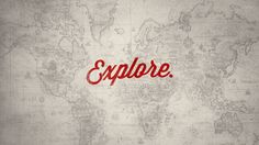 Explore the world // map