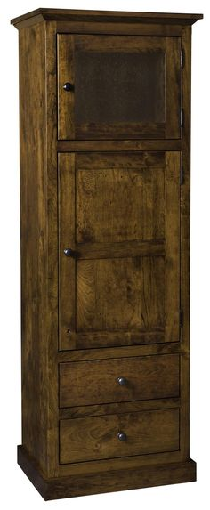 Amish Linen Cabinet made with rustic cherry wood. Amish Linen Cabinet made Cherry Wood Furniture, Rustic Furniture, Furniture Decor, Bedroom Furniture, Furniture Cleaning, Amish Furniture, Diy Wood Stain, Living Room Wood Floor, Linen Cabinet