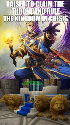King Anduin Wrynn takes the leadership to aid the kingdom in crisis.