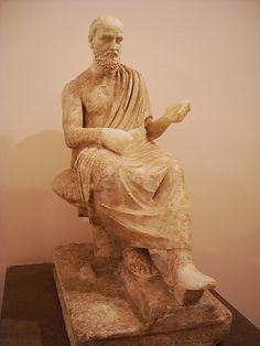 Moschion - 2nd century AD copy of a Greek original of the 4th century BC - Inscription: MOΣΧΙΩΝ - Naples Archaeological Museum