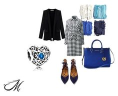 A fashion look from September 2015 featuring Uniqlo, plus size jackets and navy flats. Browse and shop related looks. Aquazzura, Uniqlo, Polyvore Fashion, Pandora, Michael Kors, Clothing, Image, Style, Outfit