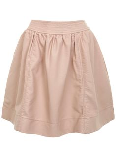 Nude faux leather skirt - Miss Selfridge
