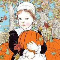 Autumn Illustration - Hope's Story by Anne Yvonne Gilbert