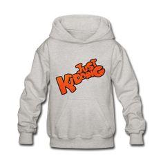 Just Kidding - Kids Hooded Sweatshirt