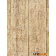 Tapete AS Creation Vliestapete Holz Holztapete 7088-16 Holz Tapete Balken beige - BilligerLuxus.de