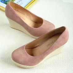 Pink suede shoes