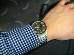 omega seamaster 300 master co-axial on nato - Google Search