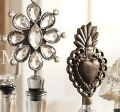 with all the different styles of wine stoppers, you'll be sure to find one that fits the personality of your hostess!