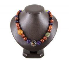 Necklace 'Solar' Solar, Beaded Necklace, Jewellery, Fashion, Nostalgia, Beaded Collar, Moda, Jewels, Pearl Necklace