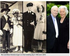 Couple Who Posed as Bride & Groom at Age 4 Still Going Strong at 91.